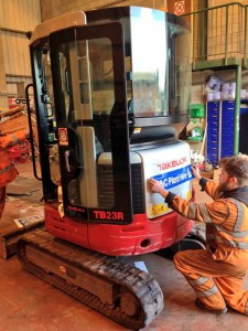 H&C Plant Hire adds a Takeuchi TB23R into it's expanding fleet, March 15!