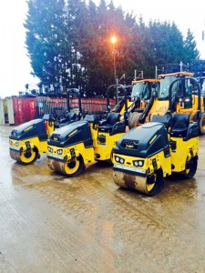 H&C invest in new Bomag 80 rollers, Jan 16!